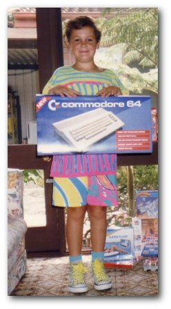 ian and a commodore 64